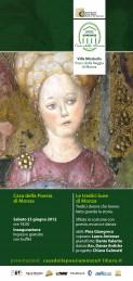 La Casa della Poesia 2012 - Inaugurazione - Tredici lune Locandina