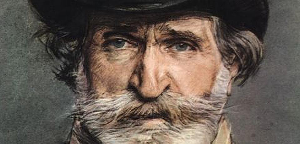 Giuseppe Verdi - dettaglio del ritratto di Boldini