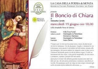 Mirabello cultura 2013 - Antonetta Carrabs - Il Boncio di Chiara