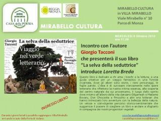 Mirabello Cultura 2013 - Giorgio Tacconi