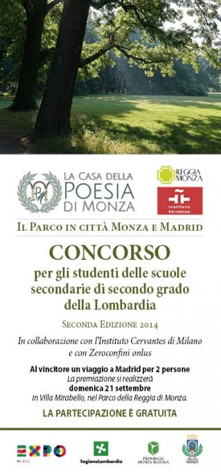 Concorso il Parco in Citta 2014 - Monza e Madrid info - copertina