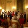 Un momento dell'evento in Villa Mirabello