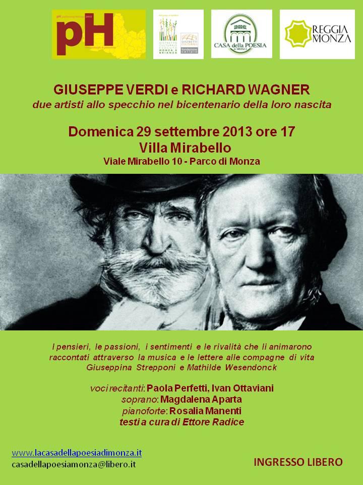 Performing Heritage – Ville Aperte 2013 - Concerto Verdi e Wagner - Locandina