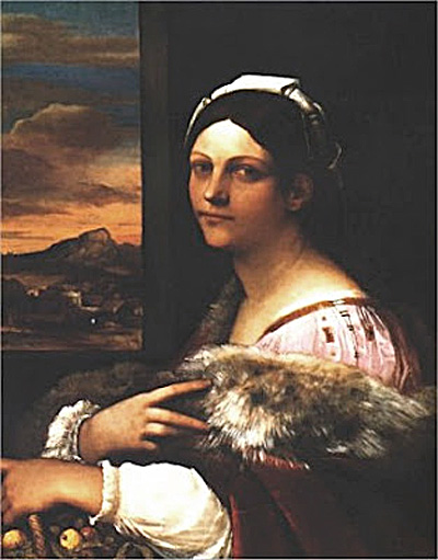 Isabella Morra - ritratto (anonimo)