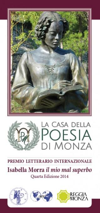 Isabella Morra Concorso Poesia IV edizione - 2014 - pieghevole info-Copertina