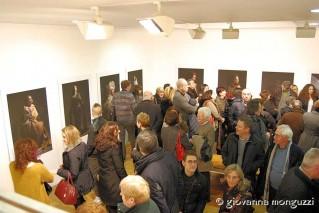 Un folto pubblico ha partecipato all'inaugurazione