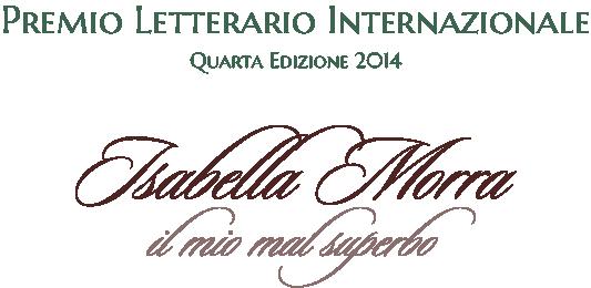 Isabella Morra 2014 - Premio Letterario