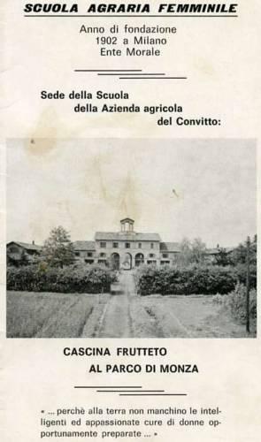 Sccuola Agraria Femminile Aurelia Josz Monza