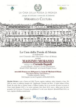 MIRABELLO CULTURA LOCANDINA EVENTO Massimo Morasso
