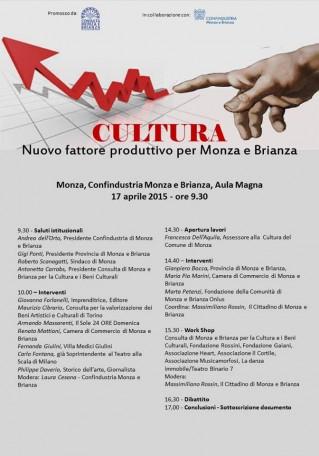 Consulta di Monza e Brianza LOCANDINA 17 aprile 2015