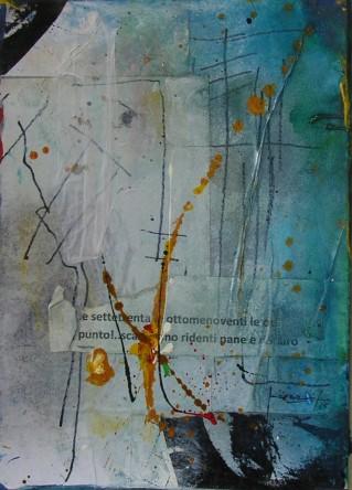 Maria Micozzi - Opera - Croste dorate