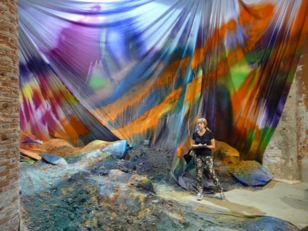 Giulia Occorsio alla Biennale di Venezia
