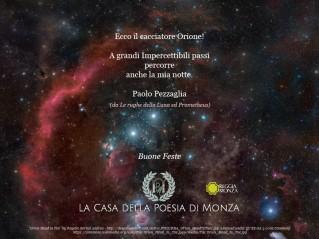 Auguri per le Feste da La Casa della Poesia di Monza