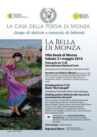 Locandina La Bella di Monza - Reading Poetico