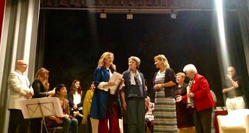 Luisa Ravezzani Premio Letterario Aurelia Josz 2016 1° premio