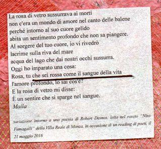 LA BELLA DI MONZA-reading di poesie Boccioli di poesia - Maila