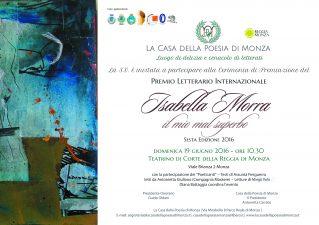 Premio Isabella Morra 2016