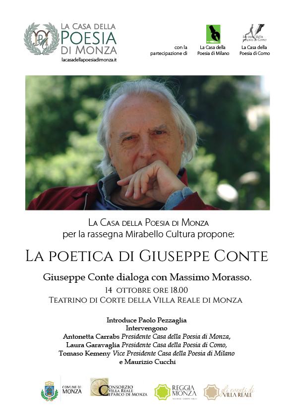 Mirabello Cultura - la-poetica-di-giuseppe-conte-14-ott-2016. Clicca per PDF