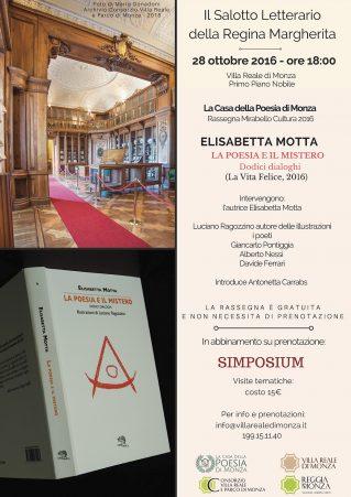 Locandina Elisabetta Motta: Il Salotto Letterario della Regina Margherita - Clicca per scaricare in PDF