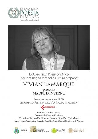 Vivian Lamarque 16 novembre 2016 - clicca per lcandina in PDF