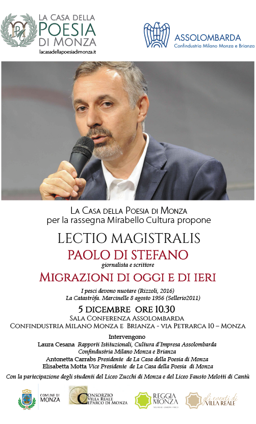 Lectio Magistralis   Paolo Di Stefano
