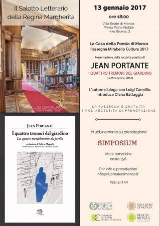 I quattro Tremori di Jean Portante - Locandina