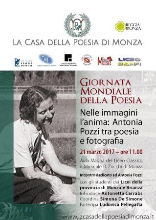 Giornata Mondiale della Poesia 2017. Clicca per scaricare la Locandina in PDF.