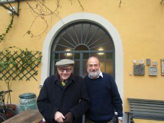 Giampiero Neri con Luciano Ragozzino - Milano