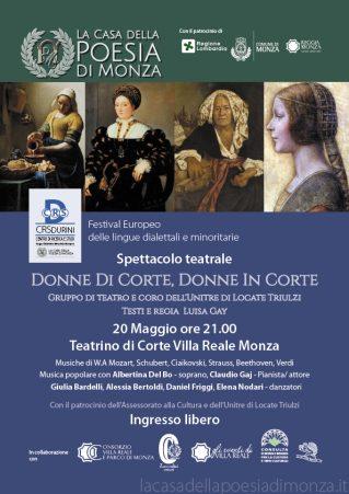 Donne di Corte Locandina 20 maggio 2017
