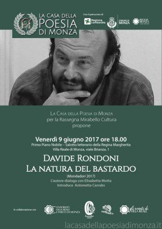 Mirabello Cultura: Davide Rondoni (Clicca per PDF)