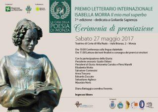 PREMIO MORRA 2017 CERIMONIA PREMIAZIONE loc