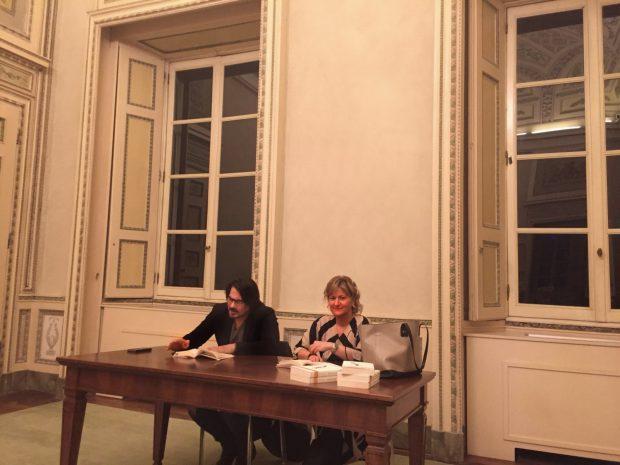 Domenico Dara e Elisabetta Motta presso Villa Reale di Monza