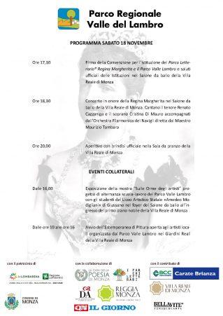 Programma della giornata - Clicca per PDF