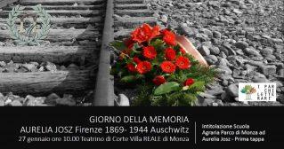 Aurelia Josz Giorno della Memoria nel Parco Letterario Regina Margherita (clicca per ingrandire)