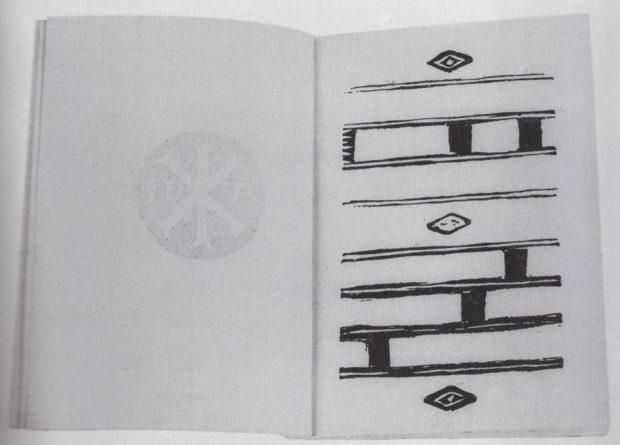 La prima tavola di Contemplazioni di Arturo Martini