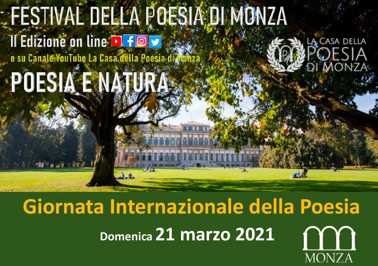 Festival della Poesia di Monza II edizione - locandina