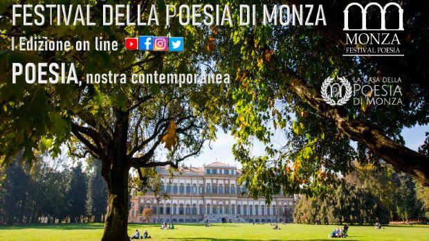 Festival della Poesia di Monza I Edizione on line - locandina