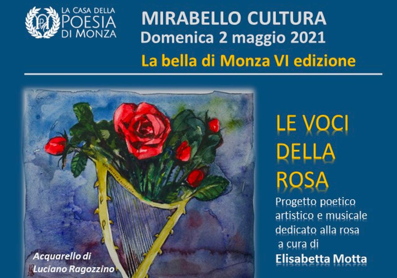 Mirabello Cultura 2021 - La Bella di Monza VI Edizione - locandina