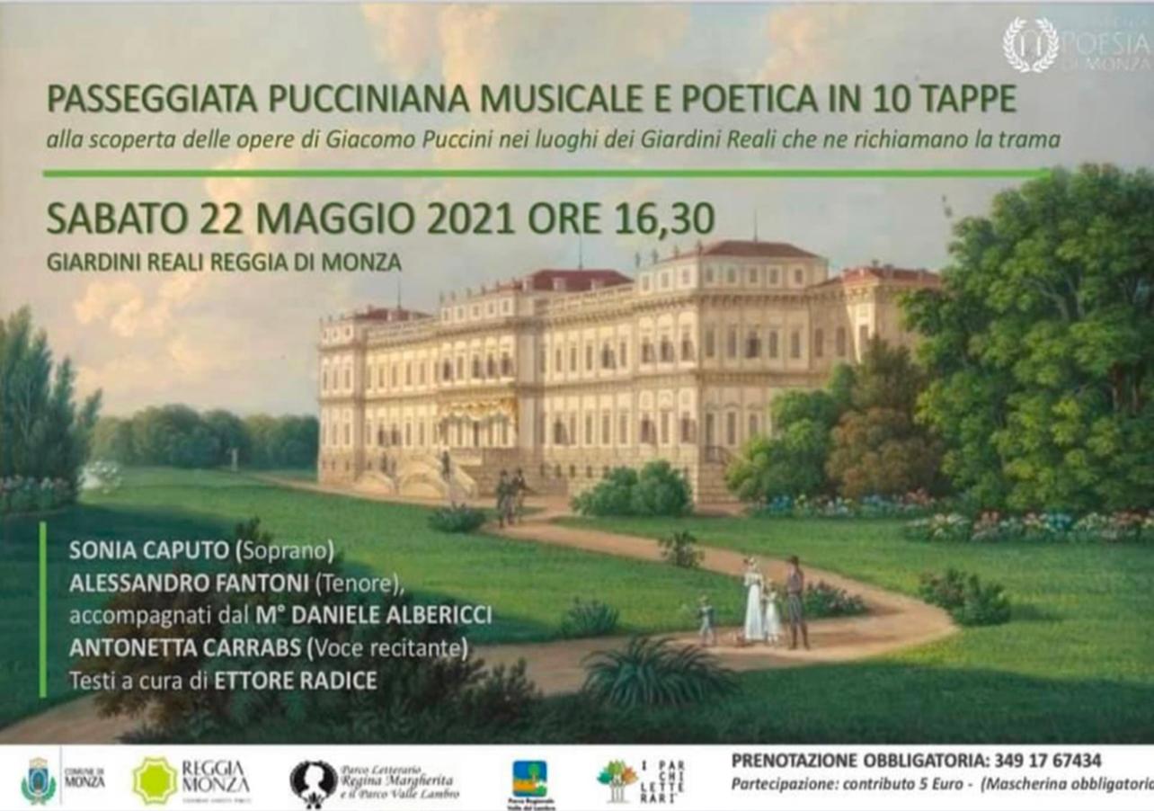 Passeggiata Pucciniana Rinviata - locandina