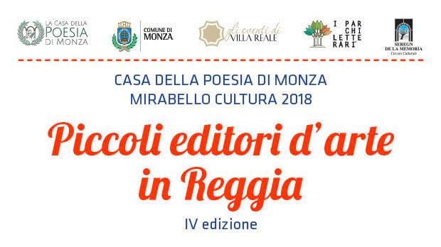 Piccoli editori d'arte in Reggia IV ediz. - locandina