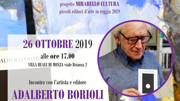 Piccoli editori d'arte in Reggia 2019 (V edizione) - locandina