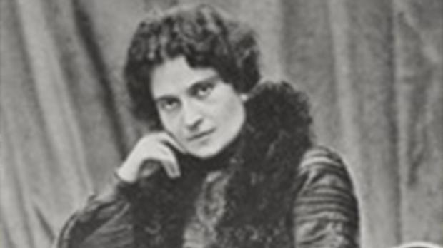 Ritratto di Ada Negri - locandina