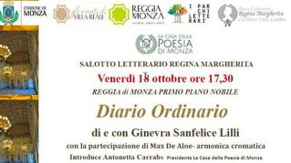 Presentazione di Diario Ordinario di e con Ginevra Sanfelice Lilli