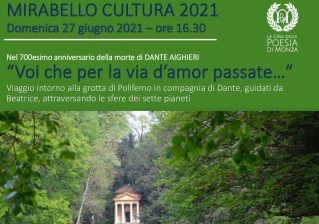 Spettacolo itinerante nel Parco La Casa della Poesia di Monza