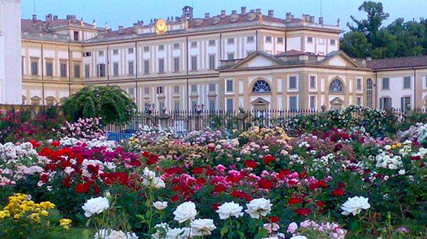 Una poesia sulla rosa per il Roseto della Villa Reale di Monza - locandina
